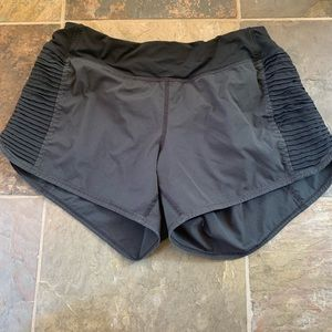 Lulu running shorts